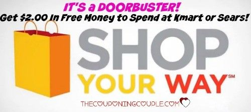 **GET SOME MORE FREE MONEY TO SPEND AT Kmart or Sears** Grab up to 2,000 ($2.00) Surprise Points to use in the store or online!! GO NOW!! This is a *NEW* Offer 9/26/15!  Click the link below to get all of the details ► http://www.thecouponingcouple.com/free-money-6-to-spend-at-kmart-or-sears/  #Coupons #Couponing #CouponCommunity  Visit us at http://www.thecouponingcouple.com for more great posts!