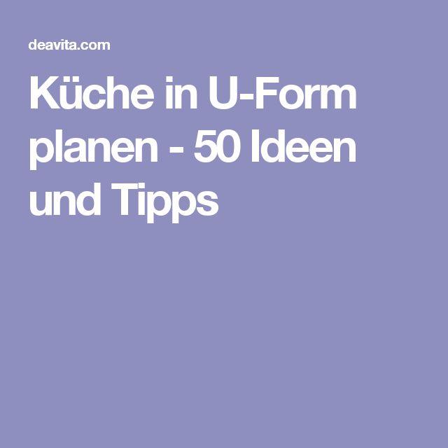 Die besten 25+ Küchen u form Ideen auf Pinterest ... | {Einbauküche planen 22}