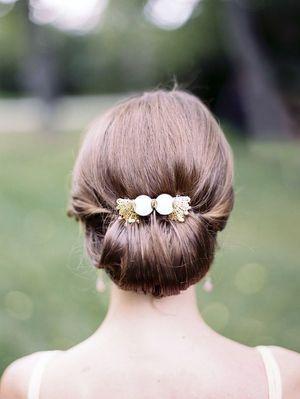 姫感アップ♡マーメイドドレス・スレンダードレスにオススメの髪型・シニヨンの参考一覧❤