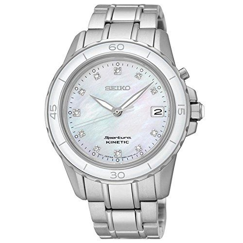 Seiko Sportura Womens Kinetic Watch SKA881 >>> Want to know more, click on the image.