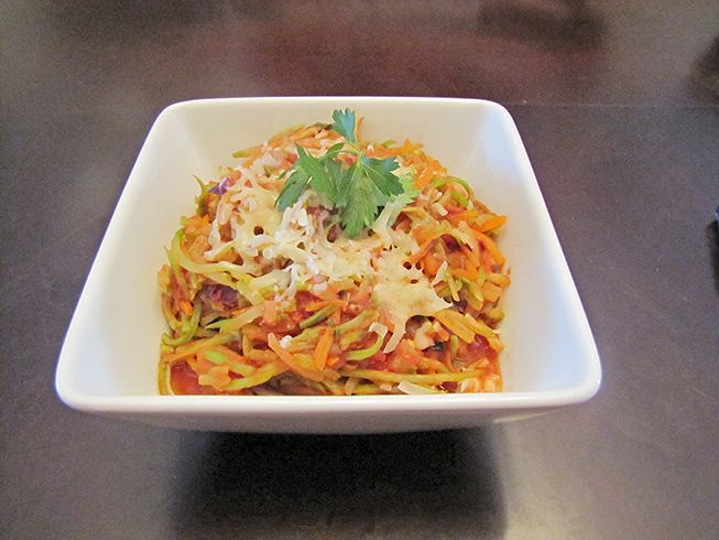 "Want pasta but not the loaded carbs that come with it? Try Our Broccoli Slaw ""Pasta"" This is our favourite substitute recipe  www.chelseacrescent.ca #broccoli #slaw #pasta #cleaneats #cleaneating #healthy #healthyfood #healthylifestyle #guiltfreefood #tomato #sauce #instafood #foods #eatclean #easy #quick #yum #yummy #nomnomnom #dinner #recipe #fit #healthychoices #veggies #vegetarian #stayhealthy #cleanfood #lunch"