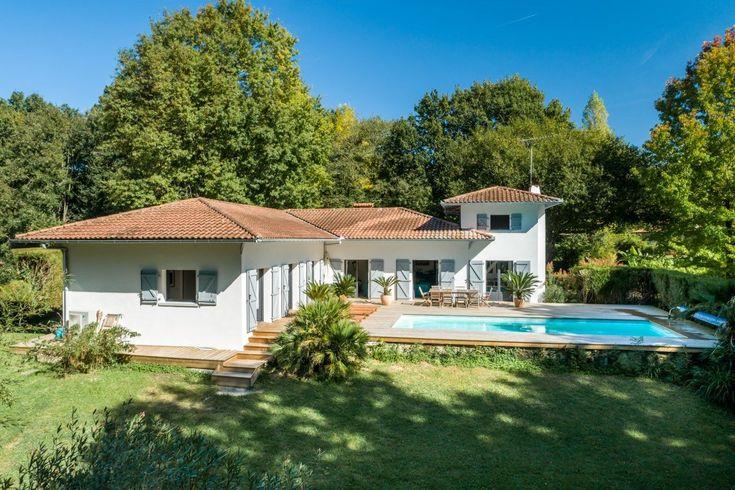 Vente belle maison 170 m² renovee piscine arbonne Immobilier Pays - construire une maison de 200m2