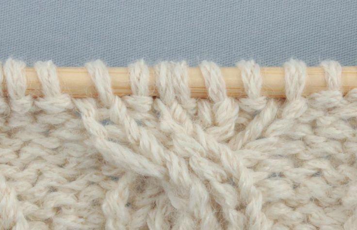 Пошаговый мастер-класс по вязанию на спицах узора «коса» на резинке из журнала «Burda. Вязание» №8/2014