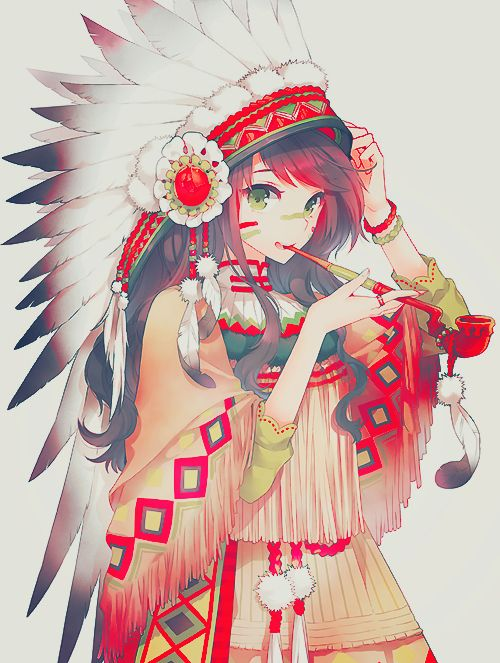 Piper Mclean, tribal style and anime style