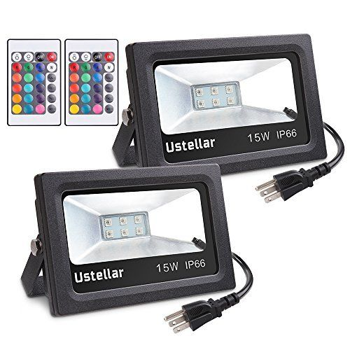 2 X 15w Rgb Led Flood Light With Dimmer 16 Colors 4 Modes: 14 Best Christmas List Images On Pinterest