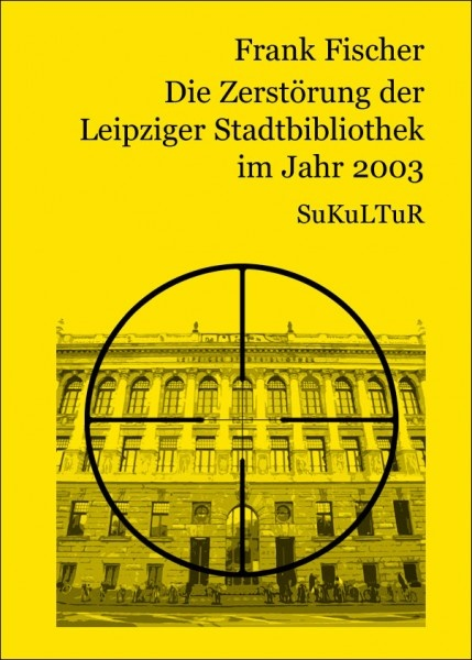 Frank Fischer:   Die Zerstörung der Leipziger Stadtbibliothek im Jahr 2003,   Illustriert von Camilo Seifert, Andreas Vogel;   Schöner Lesen 41,  Veröffentlicht im Juni 2005