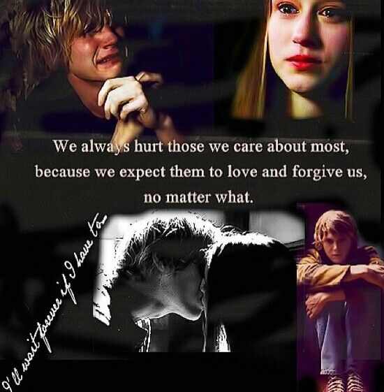 I Always Hurt The One I Love: We Always Hurt Those We Care About Most, Because We Expect