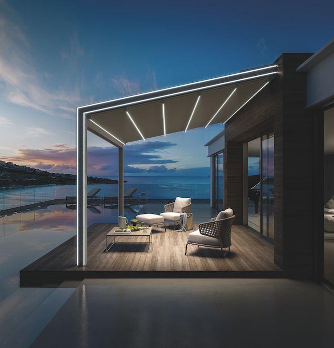 Die besten 25+ Terrassenmarkisen Ideen auf Pinterest Deck - markisen fur balkon design ideen