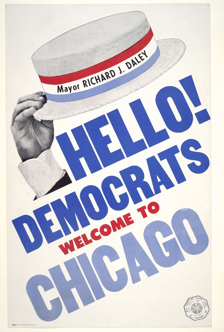 democratic national convention 1968 Discover the history and culture of chicago with explore chicago collections here you can find chicago-centric archival collections and images for research, for school, or for your own enjoyment, pulled from the city's great libraries, archives and museums.