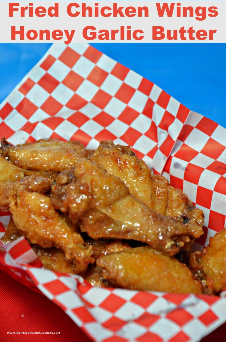 These Fried Chicken Wings Honey Garlic Butter are finger licking good. I cannot get enough of these crispy wings with the garlic butter and honey. Extremely Delicious! The sauce is sweet and garlicky. They are finger licking good!