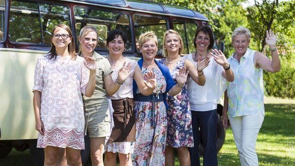 Die Landfrauen der 7. Staffel der Landfrauenküche | Bild: BR/megaherz gmbh