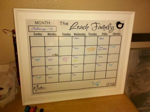 Best  Personalized Calendars Ideas On   Cool