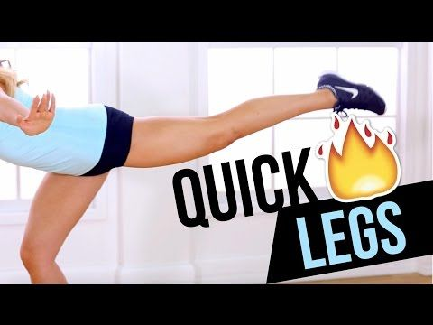 If you want to get strong, sexy, legs without using any equipment and in under 6 minutes, this leg workout will do it for you! Build your lean leg muscles with me as we sculpt your thighs, quads, and calves with my unique POP Pilates exercises.