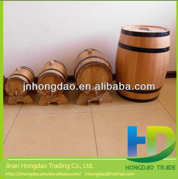 Cheap wooden barrels wine barrels sale new home projects for Diy whiskey barrel bar