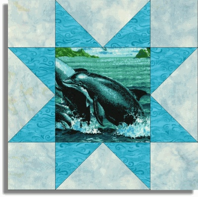 15 best Dolphin Quilts images on Pinterest | Grand kids, Sewing ... : dolphin quilt - Adamdwight.com