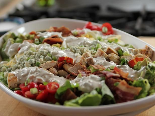 Get Ree Drummond's Cobb Salad with Blue Cheese Dressing Recipe from Food Network