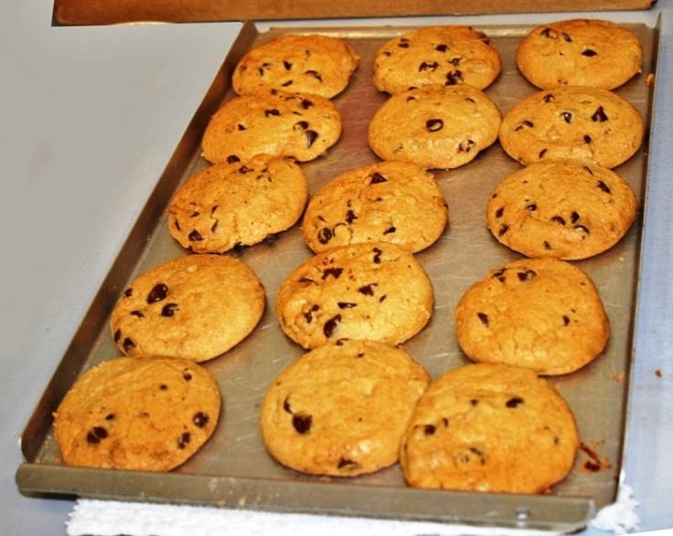 Amerikai csokis sütemény (American chocolate chips cookies)