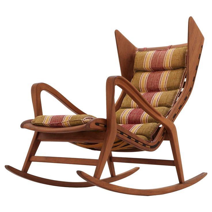 Superb Gio Ponti Rocking Chair   Produced By Cassina   Italy Good Looking