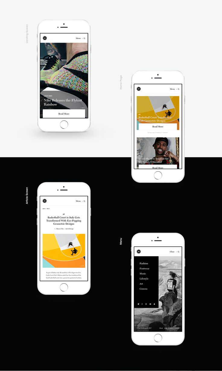 Highsnobiety on Behance