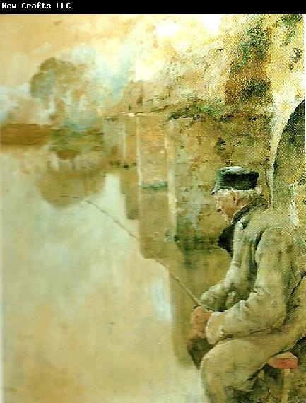 Carl Larsson fiskare fran grez -sur-loing