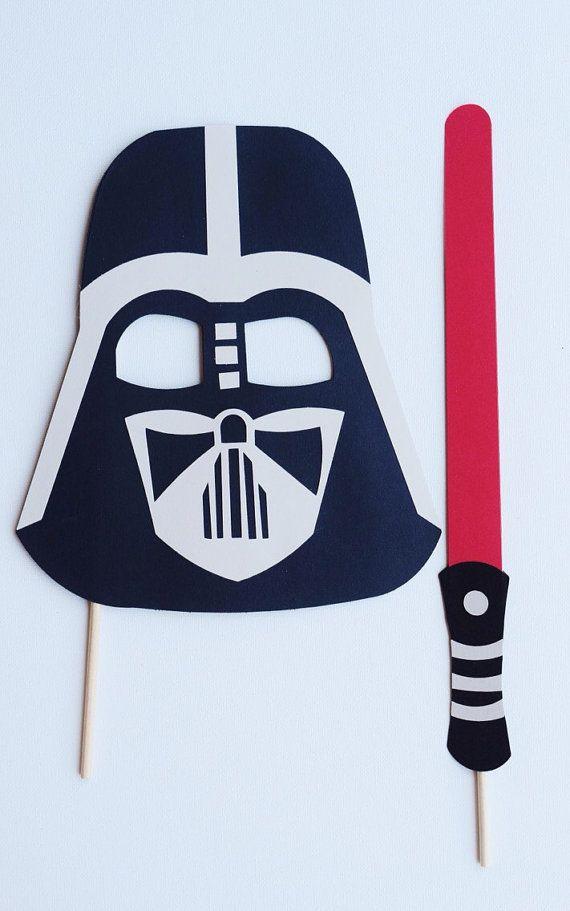 Disney Star Wars Photo Booth Props Decoración fiesta de