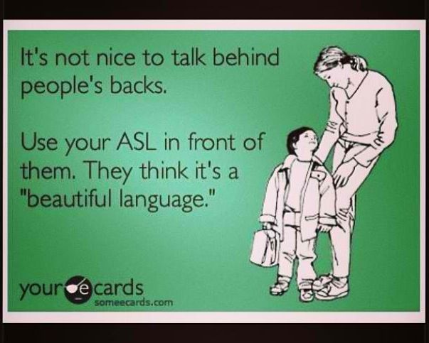 how to say i am beautiful in sign language
