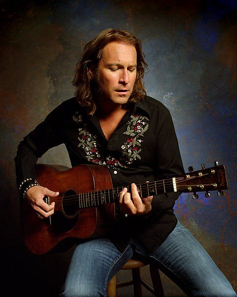 John Corbett ~ I love a man and his guitar, especially a tall hot man!!