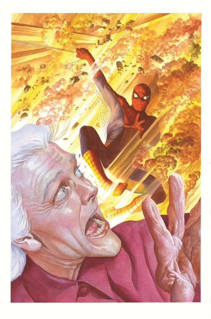 The Amazing Spider-Man #1.4 by Alex Ross *