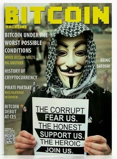 Item specifics     Compatible Currency:   Bitcoin       New In wrap. Bitcoin Magazine #1 Free Shipping 2011 edition Satoshi Nakamoto  Price : 100.00  Ends on : 4 weeks  View on eBay