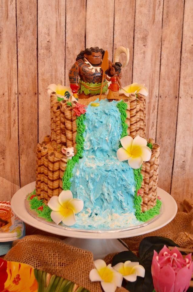 Moana Birthday Cake Kristi S Kreations Pinterest