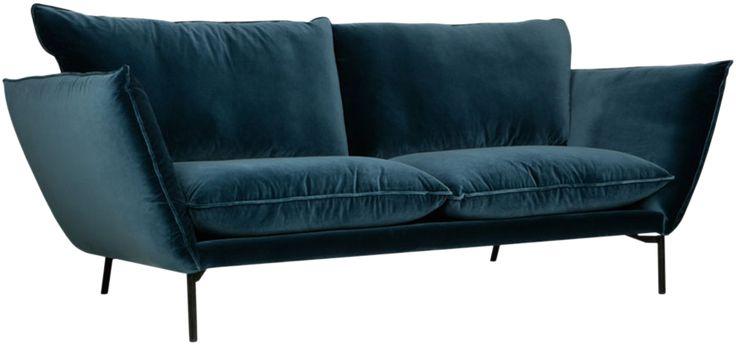 Hugo Modern har en enkel kuddstruktur och är essensen av modern design. Den högelastiska kallskumskudden ger både fantastisk komfort och en snygg form.