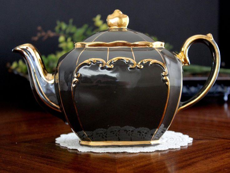 Cube Sadler Teapot, England, Cubed Sadler Tea Pot