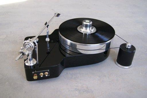 Gramofon Ad Fontes z wkładką Audio-Technica