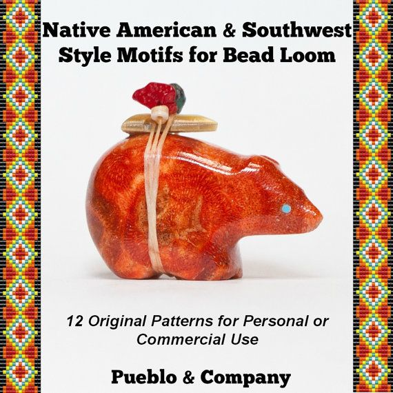 Native American and Southwest Style Motif Patterns by PuebloAndCo, $15.00