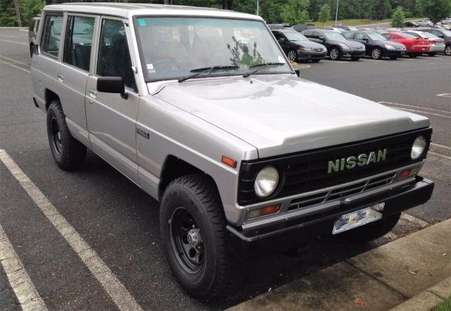 1984 Nissan Safari (Patrol MQ/160) Beautifully restored Unique