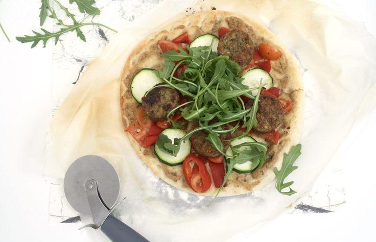 Healthy bloemkool pizza zonder kaas