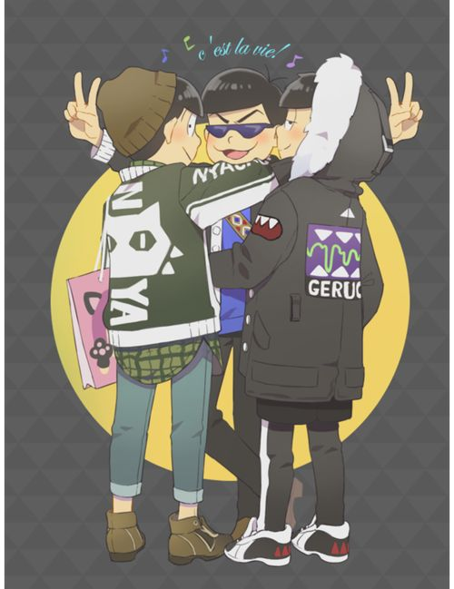 anime, osomatsu san, and mr osomatsu image