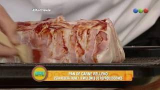 Receta: Bife a la napolitana relleno - Morfi
