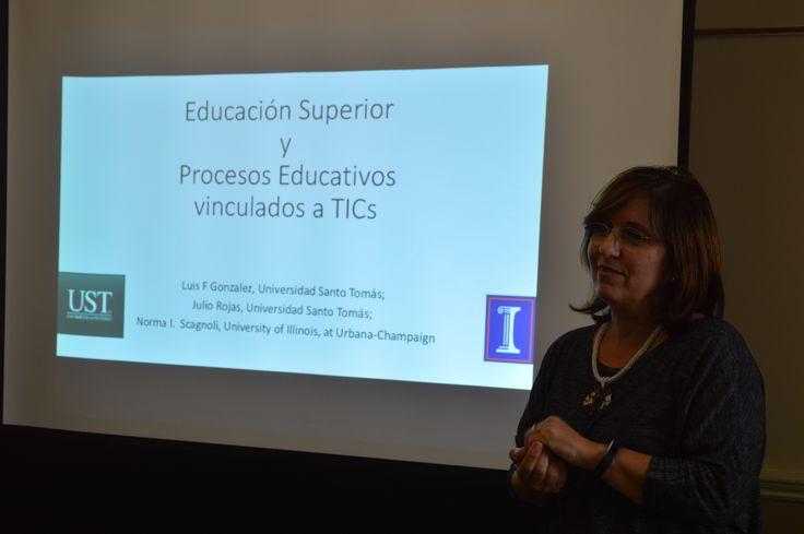 Profesora Norma Scagnoli especialista en e-Learning