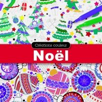 Créez de belles illustrations colorées grâce à ce carnet qui comprend 48 pages détachables. Une excellente activité pour se mettre dans l'esprit des fêtes!