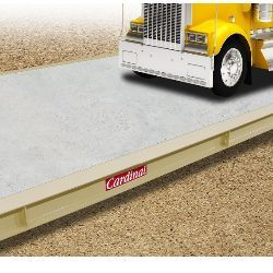 Cardinal EPR truck scales are built from high-quality materials that provide stability and support during the weighing process. Click the link for buying Advice and Case Study for truck scales.    #truckscales