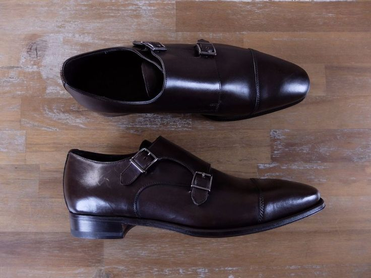 Authentic Canali brown double monk strap shoes - Size 9 US / 8 UK / 42 EU - New in Box. It comes with original box and dustbags.   eBay!
