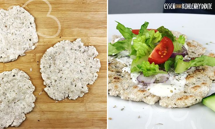 Low-Carb Pita-Fladen