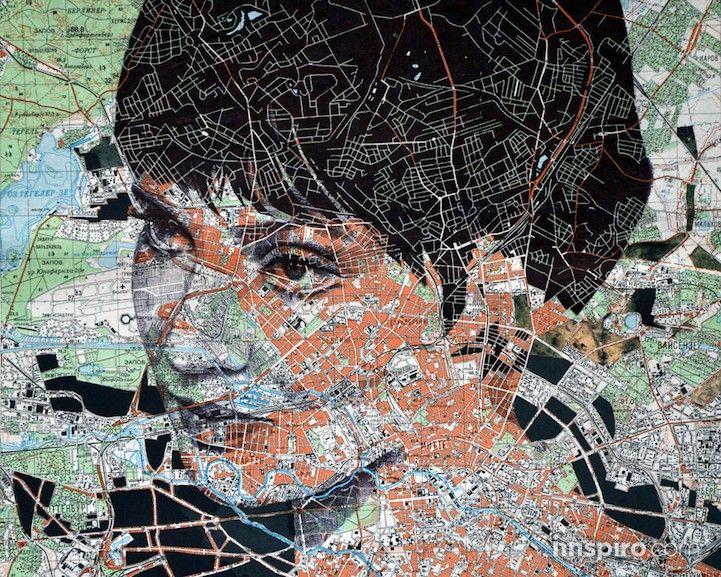 Los mapas de papel no son tan comunes como solían ser, desde la aparición de diversas aplicaciones y sistemas GPS en los que confiamos más y más durante nuestros viajes. Si bien este puede ser el caso, el artista Ed Fairburn aprecia el arte de la cartografía y está trabajando para cambiar la finalidad de los mapas físicos mientras expande su portfolio.