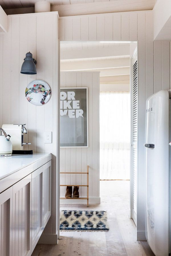 great cabinets, sconce, and Smeg of course:)