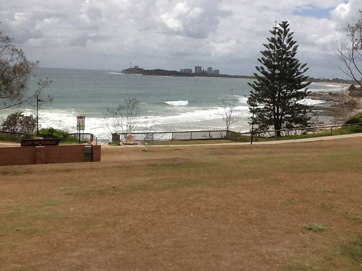 Alexandra Headland Queensland. Not a very sunny day.