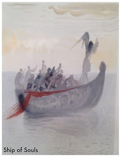 Ship of Souls - Salvador Dali