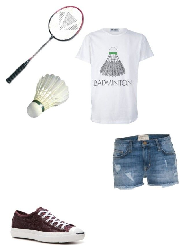 """""""@tbell555 I love badminton too"""" by honeydomelonhead ❤ liked on Polyvore featuring Triple-Major, Jack Purcell, Current/Elliott, women's clothing, women's fashion, women, female, woman, misses and juniors"""