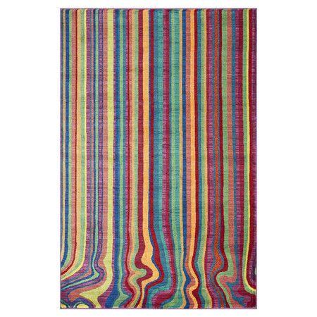 Madeline Rainbow Stripe Rug by Loloi