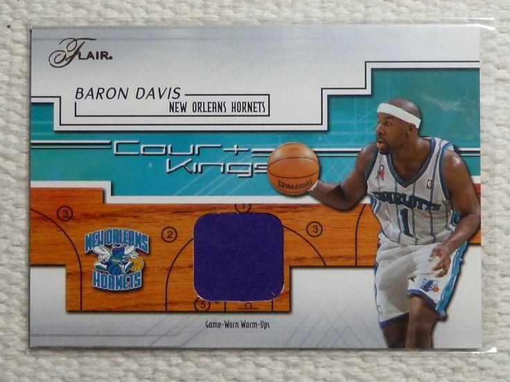 $1.99 2002-03 Flair BARON DAVIS Court Kings Jersey Card JSY #CK-BD Warm Ups #NewOrleansHornets http://www.ebay.com/itm/2002-03-Flair-BARON-DAVIS-Court-Kings-Jersey-Card-JSY-CK-BD-Warm-Ups-/282052847518?ssPageName=STRK:MESE:IT